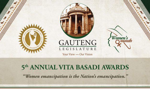 Awards categories for the 5th Annual Vita Basadi Awards