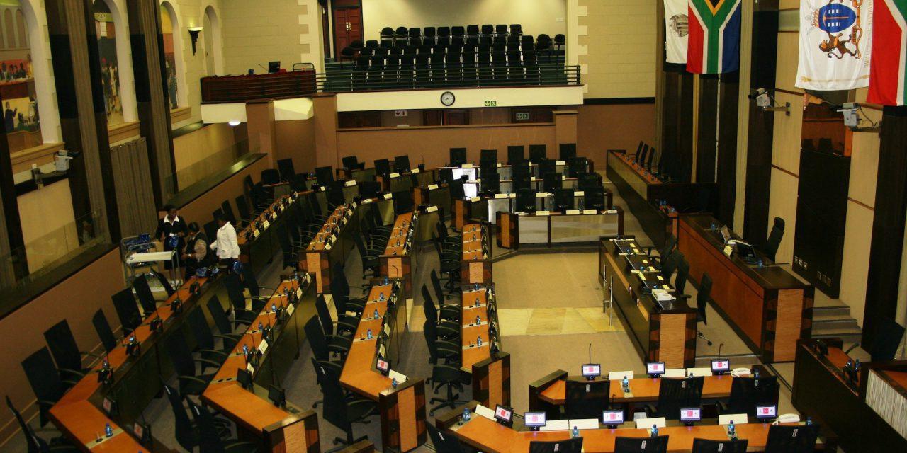 Office Bearers in the Sixth Legislature