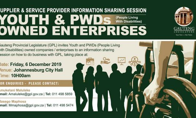 Information session for Youth- & PWD-owned enterprises