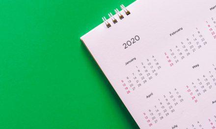 Institutional Calendar 2020
