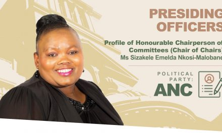 Chairperson of Committees Sizakele Nkosi-Malobane