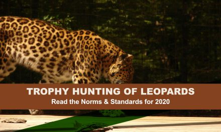 Norms and Standards for Trophy Hunting of Leopards, 2020