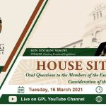 House sitting, Tuesday 16 March 2021