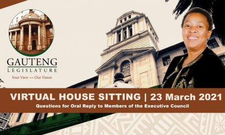 SITTING, TUESDAY 22 MARCH 2021