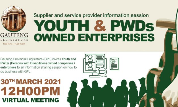 SUPPLIER INFORMATION SESSION FOR YOUTH & PWD ENTERPRISES