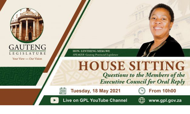 QUESTIONS FOR ORAL REPLY, TUESDAY 18 MAY 2021