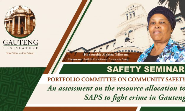 AN ASSESSMENT ON THE RESOURCE ALLOCATION TO FIGHT CRIME IN GAUTENG